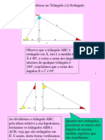 Relações Métricas No Tri.retângulo