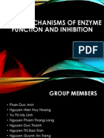 The Mechanisms of Enzyme Function and Inhibition (1)