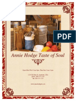 annie hodge taste of soul menu