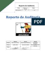 Reporte de Auditoría