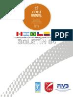Boletin 04 - Copa Unique 2014