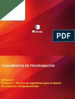 Fundamentos de Programación Semana 3 PPT
