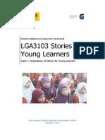 Lga3103 Topic 1