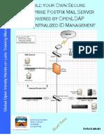 Deploy Secure Postfix Messaging Server with OpenLDAP for Addressbook & Identity Management v1.1