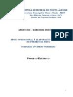 Memorial Descritivo - Apoio Operacional à Elaboração de Projetos