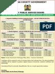 KIRINYAGA COUNTY PUBLIC SERVICE BOARD-06/07/2014