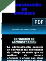 Administracion de Una Empresa .