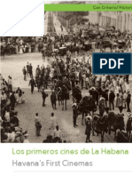 Los primeros cines de La Habana.