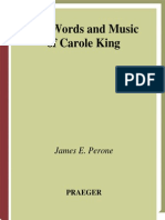 Carole King The_Words_and_Music_of