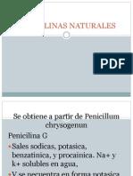 farmacologia PENICILINAS NATURALES