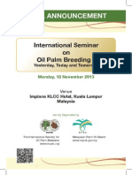 ISOPB Seminar 2013 Final Announcement