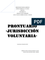 Prontuario Jurisdiccion Voluntaria Completo