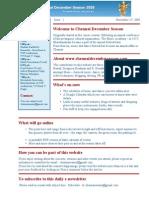 Chennai December Season - Sample Issue