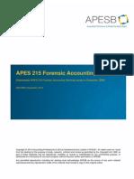 APES 215 - December 2013