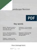 River Landscape Revision - Edexcel GCSE