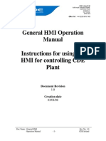 Cde Hmi Manual