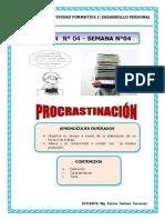 Semana 4- Pocrastinación