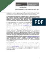 Proyecto Reglamento General Ley Servicio Civil Prepublicacion
