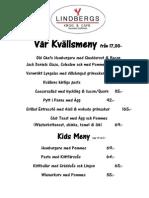 KvällsMeny 2014