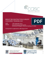 Flier Breast Reconstruction Surgery Training Day EMAIL VERSION