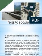 DISEÑO BOCATOMAS DIAPOS