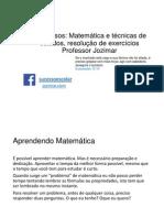 Matemática e Tecnicas Concursos