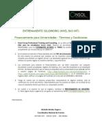 Condiciones Financiamiento Solidworks