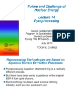 Lecture 14 Pyroprocessing[1].PdfNUCLEAR ENERGY
