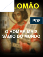 SALOMÃO, O HOMEM MAIS SÁBIO DO MUNDO