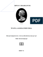 Corpus Caesarianum - Wojna Aleksandryjska