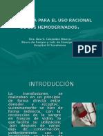 USO_RACIONAL_DE_HEMOCOMPONENTES[1].ppt