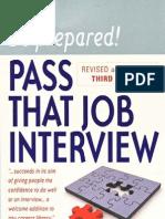 Pass That Job Interview