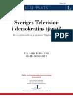 Sveriges Television I Demokratins Tjänst