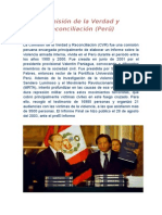Comisión de La Verdad y Reconciliación