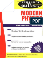 Schaum's Outlines-Modern Physics