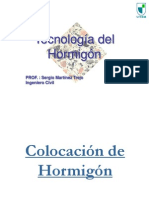 UTEM 2014 Clase 7 Hormigón - Colocación
