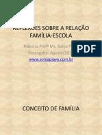 Reflexões Sobre a Relação Família-escola