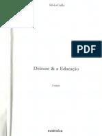 Sílvio Gallo, Deleuze e a Educação