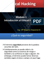Modulo 1 - Introduccion Al Ethical Hacking