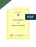 El General Belgrano y La Orden de Santo Domingo, Fr Rubén Gozález OP