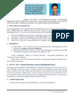 Resume of M A Mohiuddin