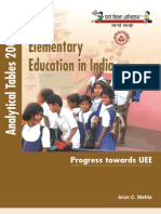 Elementary Education in India, Analytical Tables 2006-07