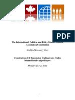 IPPSSA Constitution 1.0 Feb 2014
