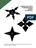 Plantillas Para Imprimir de Estrellas Ninja o Shuriken (1)