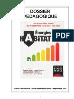 Dossier pédagogique exposition Energies Et Habitat
