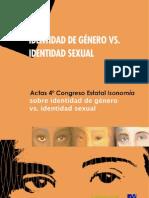 Identidad de Género Vs. Identidad Sexual