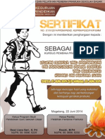 Desain Sertifkat Pramuka 1