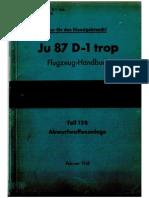 Ju87D-1 Trop Teil 12B