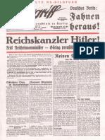Der Angriff - 1933-01-30 - 7. Jahrgang - Nummer 25