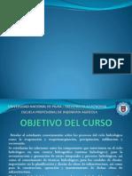 Presentación Curso HIDROLOGÍA - I 2014.pptx